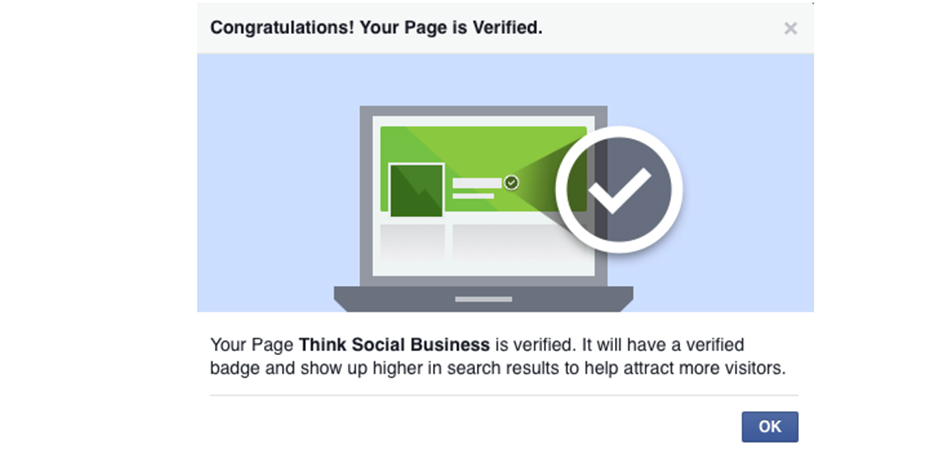 how to get your account verified on facebook