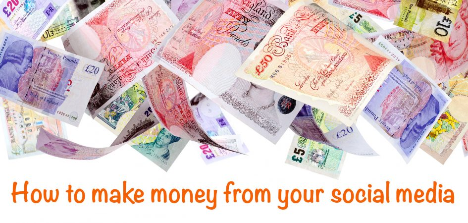 make money from your social